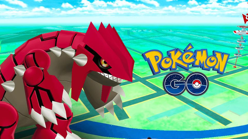 catch groudon pokemon go