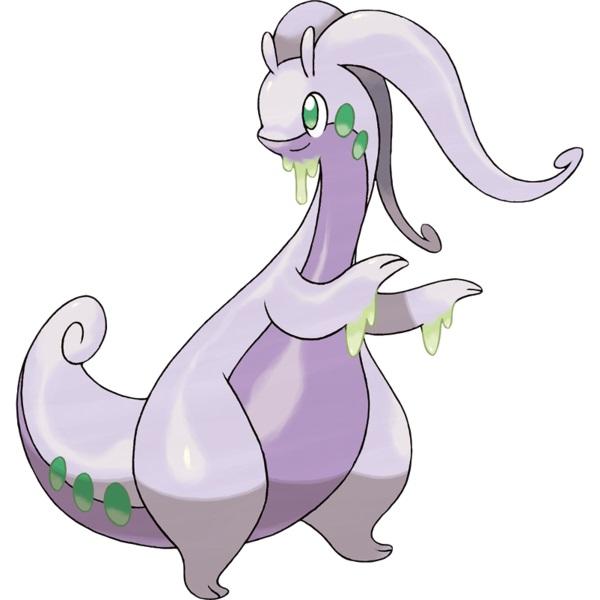goodra pseudo legendary pokemon
