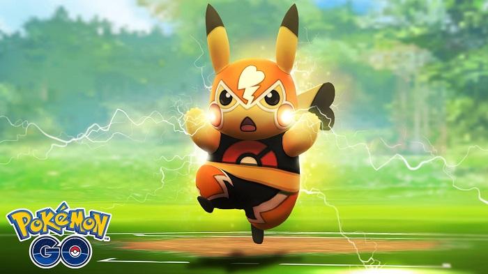 pokemon go pikachu libre