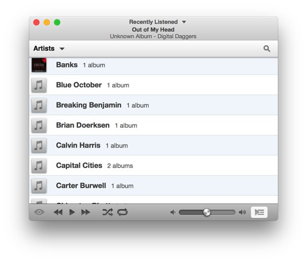 iTunes Alternatives for Mac-Ecoute