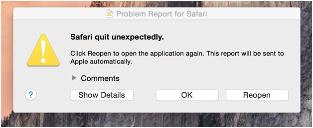 Safari not loading websites 4