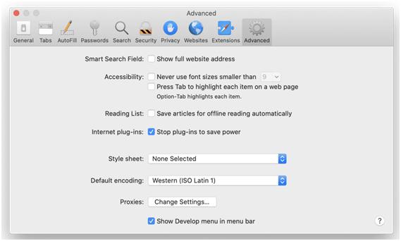Safari not loading websites 7