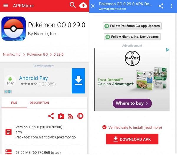 download pokemon go apk