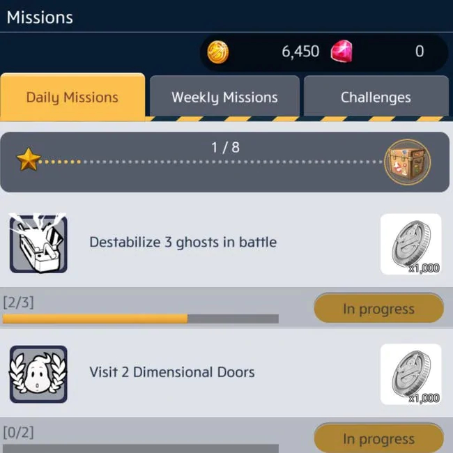 Find and complete missions to level up in Ghostbusters World game