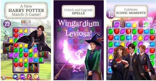 harry potter puzzle spells