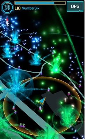 A screenshot of Ingress original version