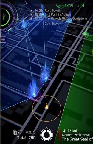 A screenshot of Ingress Prime