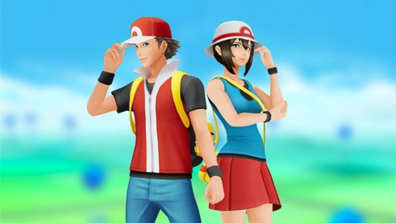 Trainer outfits for Pokémon Go Fire Red