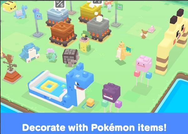 pokemon quest decorative items