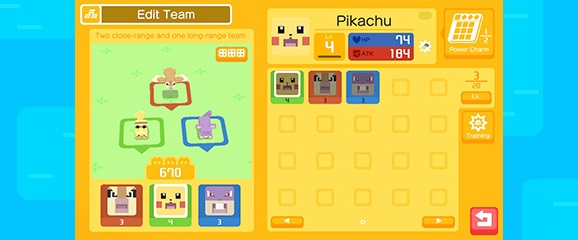 pokemon quest team formation