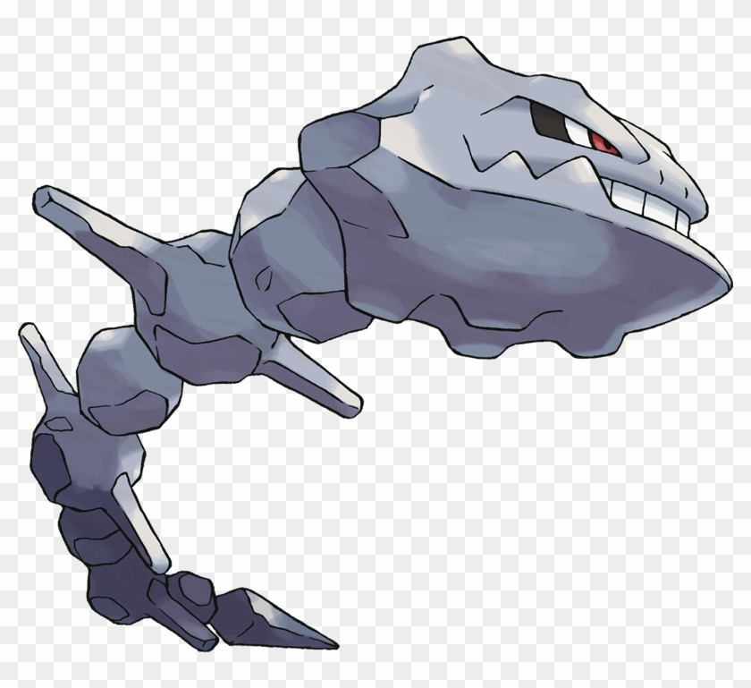 The tough Steelix from Giovanni Pokemon creature list