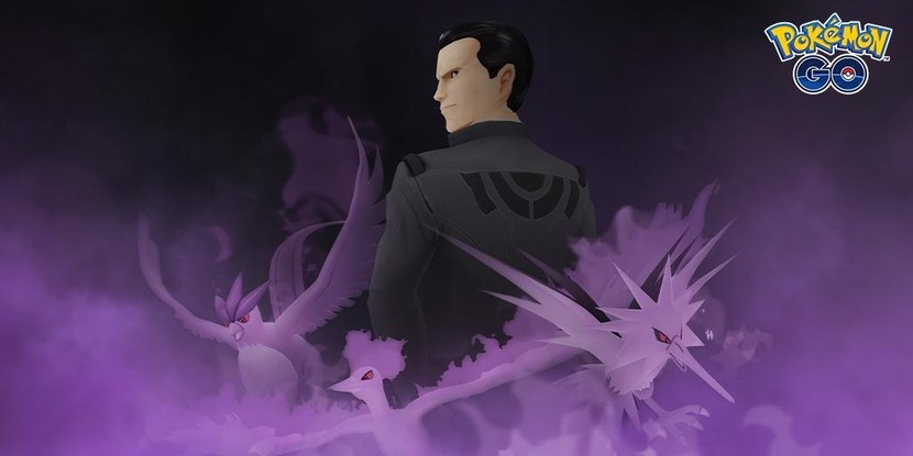Giovanni, the Team Rocket Go overlord boss