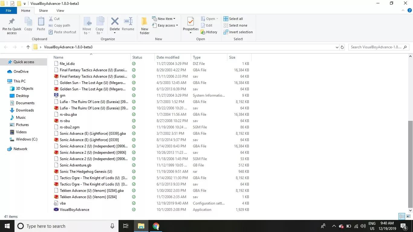 opening VBA emulator