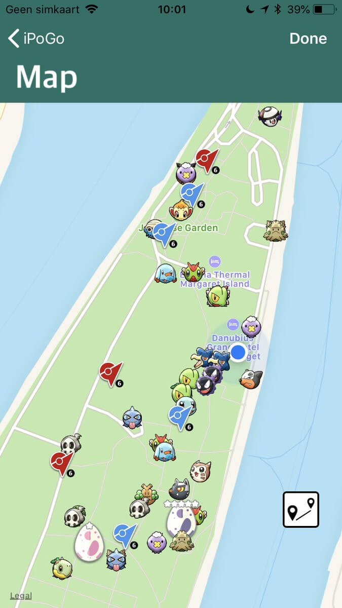 ipogo virtual map