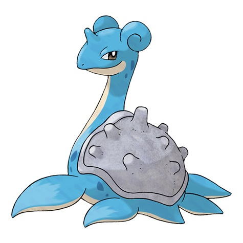 Lapras, the first option for Round 2 of a Sierra attack