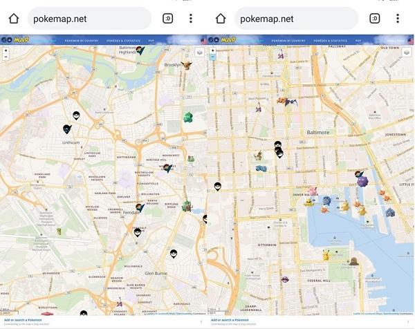 poke map net