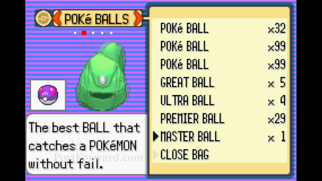 The best ball to catch Pokémon – Pokémon emerald Master Raid Ball