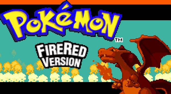 pokemon fire red banner