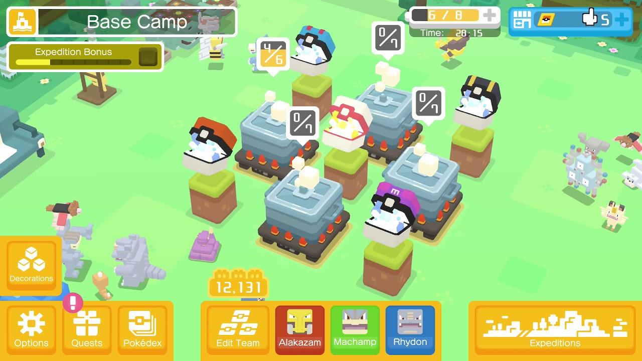 Pokemon Quest Switch 6