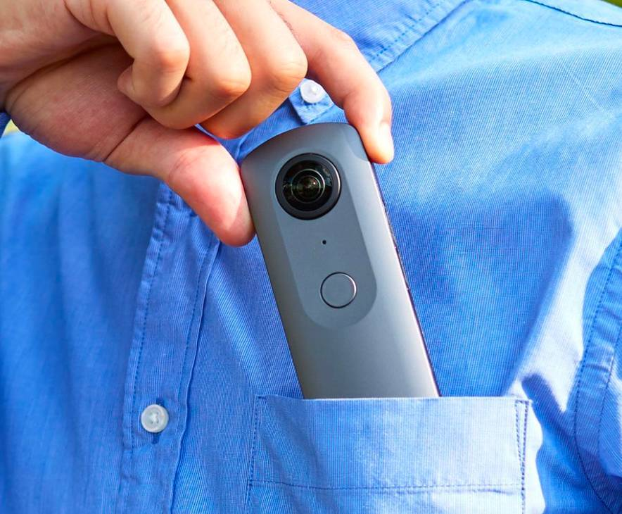 Best 360 Camera-Ricoh Theta V