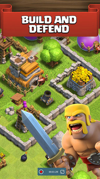 record Clash of Clans