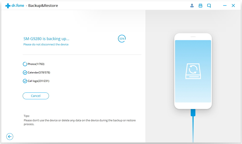 android data backup process