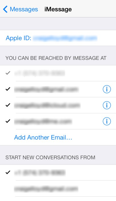 How to fix iPhone Messages not syncing with mac-