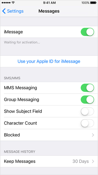 How to fix iPhone Messages not syncing with mac-Turn off iMessages