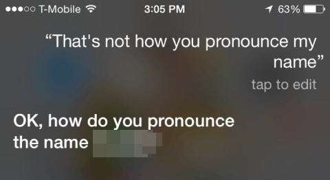 Tips and tricks about iPhone 8-Correct Siri's pronunciation
