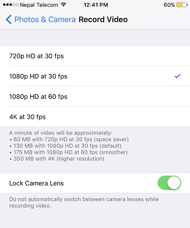Tips and tricks about iPhone 8-Lock the camera