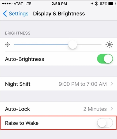 Tips and tricks about iPhone 8-aise to wake feature