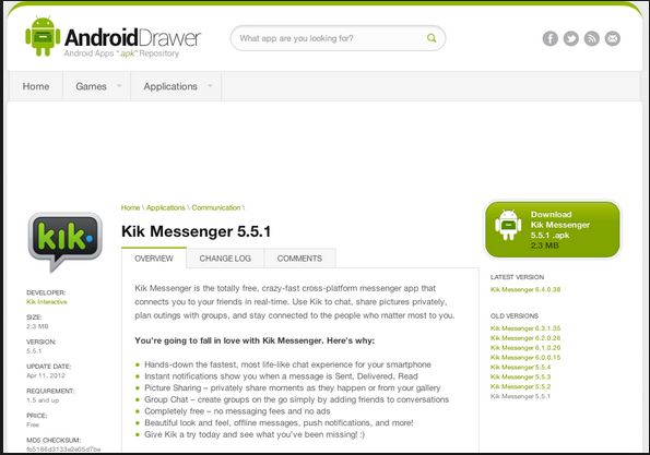 step 2 to login Kik online by Bluestacks