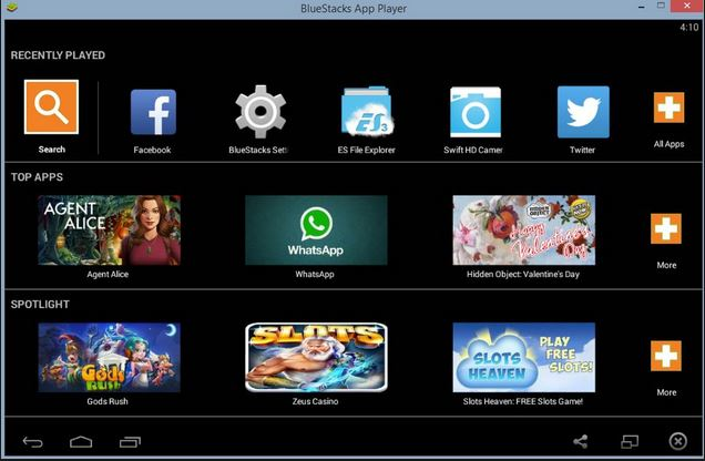step 4 to login Kik online by Bluestacks