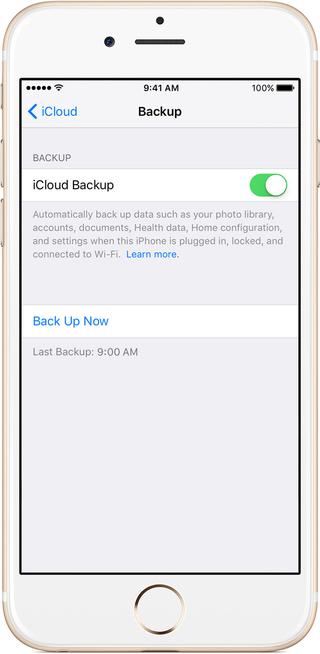 backup iPhone before upgrading
