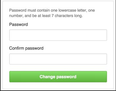 step 8 to reset Kik password