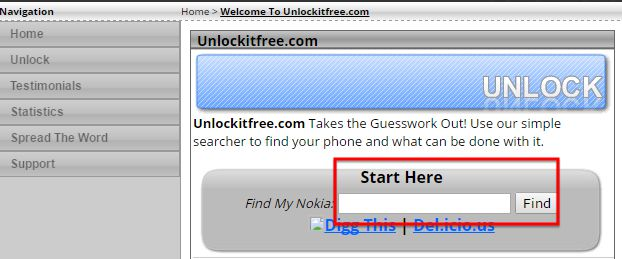 ways to find unlocking codes-Unlock it Free