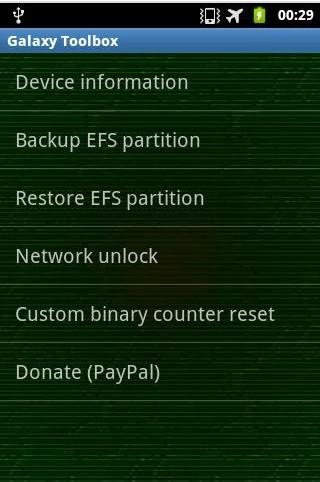 Galax SIM unlock APK