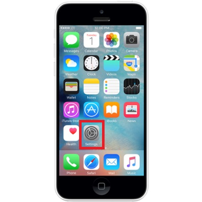 reset iphone 5c comment r 233 initialiser iphone 5c dr fone 12871