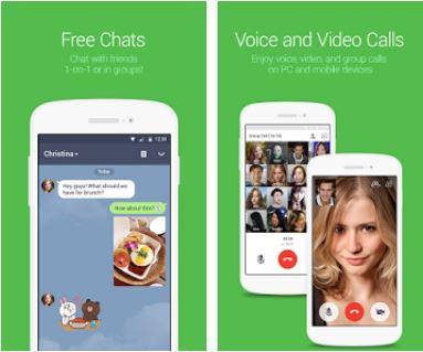kostenlose Anruf-App - Line