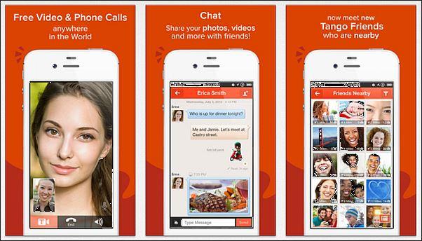 kostenlose Anruf-App - Tango