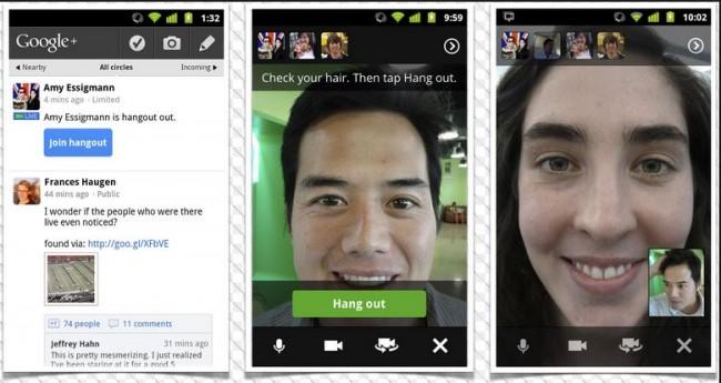 kostenlose Anruf-App - Google Hangouts