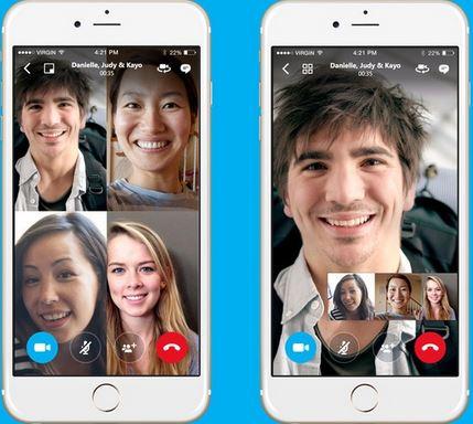 kostenlose Anruf-App - Skype