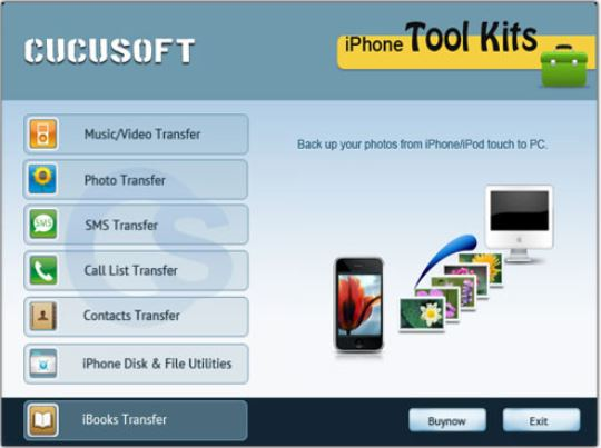 iPhone-Backup-Software - iPhone Backup Cucusoft