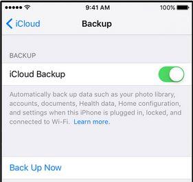 iPad in iCloud sichern