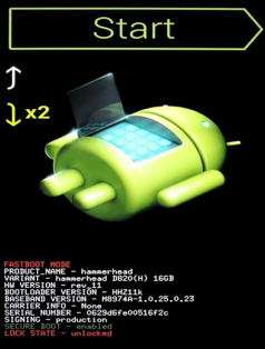 factory reset android lock screen