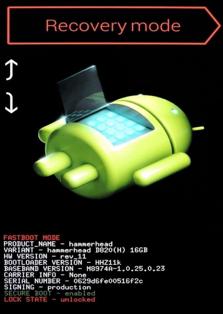 Wiederherstellungsmodus-Umgehung des Android-Sperrbildschirms