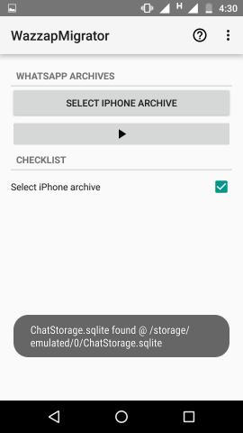 Nachrichten vom iPhone auf Android übertragen