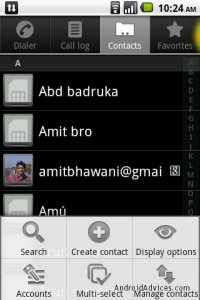 backup contacts samsung