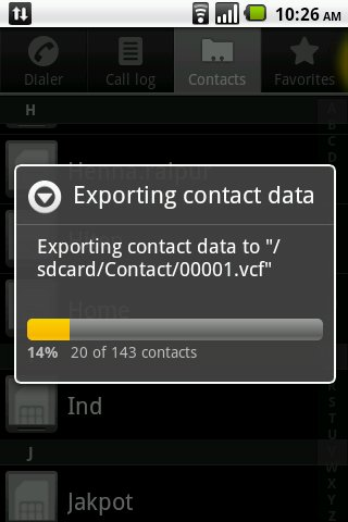 backing up samsung contacts