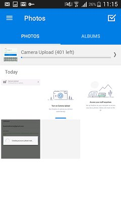 Dropbox Backup von Samsung-Fotos